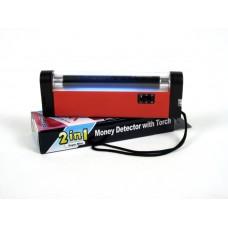 6 Inch Handheld UV Black Light Torch with LED Flashlight, Certificates